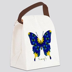 Charisma Butterfly Canvas Lunch Bag
