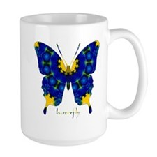 Charisma Butterfly Large Mug