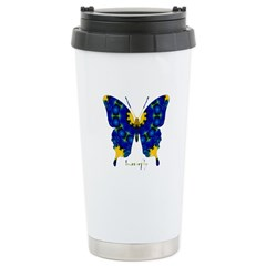 Charisma Butterfly Stainless Steel Travel Mug