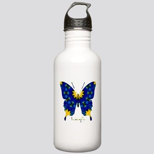 Charisma Butterfly Stainless Water Bottle 1.0L
