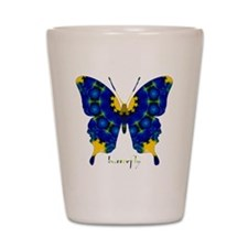 Charisma Butterfly Shot Glass
