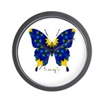 Charisma Butterfly Wall Clock