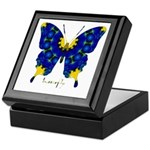 Charisma Butterfly Keepsake Box
