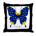 Charisma Butterfly Throw Pillow