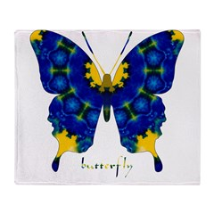 Charisma Butterfly Throw Blanket