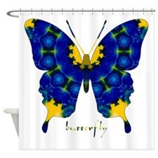 Charisma Butterfly Shower Curtain