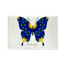 Charisma Butterfly Rectangle Magnet