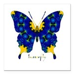 Charisma Butterfly Square Car Magnet 3