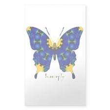 Charisma Butterfly Sticker (Rectangle)