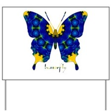 Charisma Butterfly Yard Sign