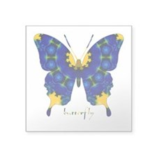 Charisma Butterfly Square Sticker 3