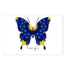 Charisma Butterfly Postcards (Package of 8)