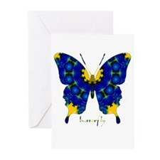 Charisma Butterfly Greeting Cards (Pk of 10)