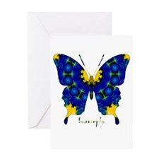 Charisma Butterfly Greeting Card