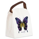 Communion Butterfly Canvas Lunch Bag