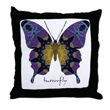 Communion Butterfly Throw Pillow