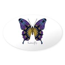 Communion Butterfly Sticker (Oval)