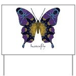 Communion Butterfly Yard Sign
