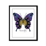 Communion Butterfly Framed Panel Print