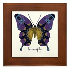 Communion Butterfly Framed Tile