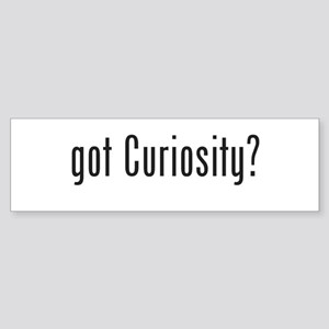 got Curiosity? Sticker (Bumper)