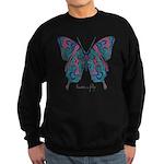 Yogi Butterfly Sweatshirt (dark)