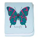 Yogi Butterfly baby blanket