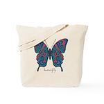 Yogi Butterfly Tote Bag