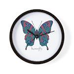 Yogi Butterfly Wall Clock