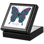Yogi Butterfly Keepsake Box