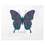 Yogi Butterfly King Duvet