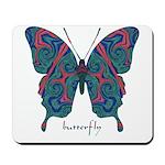 Yogi Butterfly Mousepad