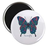 Yogi Butterfly Magnet