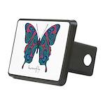 Yogi Butterfly Rectangular Hitch Cover