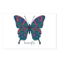 Yogi Butterfly Postcards (Package of 8)