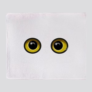 Eyes Throw Blanket