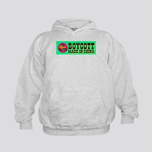 Boycott Made In China K9 Kill Kids Hoodie