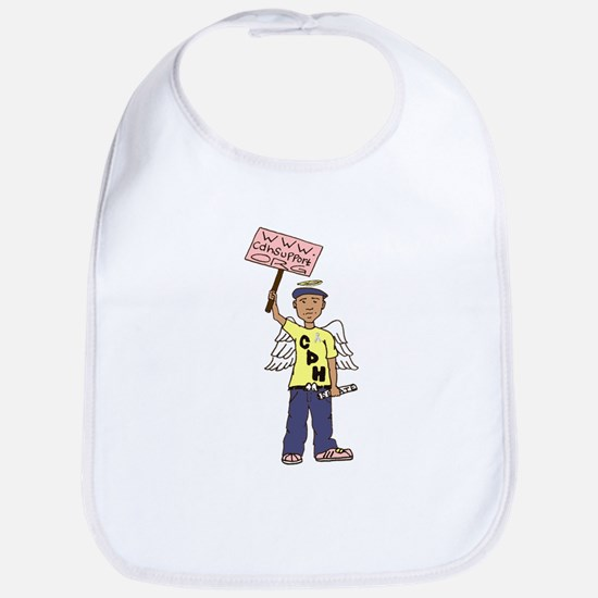 Stand Up for CDH Babies Bib