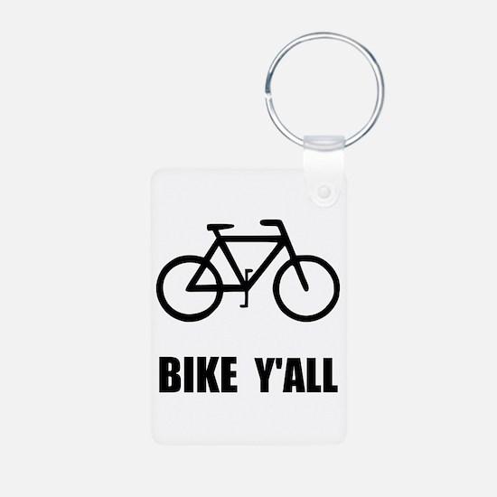 Bike Y'all Keychains