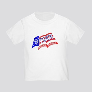 Never Forget Flag Toddler T-Shirt