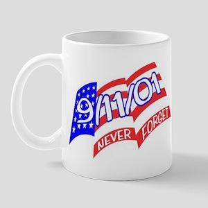 Never Forget Flag Mug