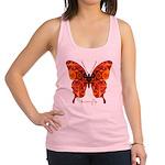 Crucifix Butterfly Racerback Tank Top