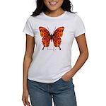Crucifix Butterfly Women's T-Shirt