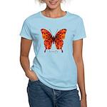Crucifix Butterfly Women's Light T-Shirt