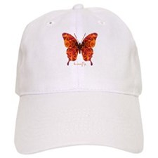Crucifix Butterfly Cap
