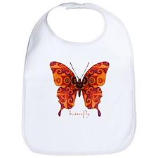 Crucifix Butterfly Bib