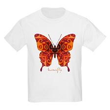 Crucifix Butterfly Kids Light T-Shirt