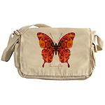 Crucifix Butterfly Messenger Bag