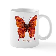 Crucifix Butterfly Mug