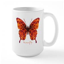 Crucifix Butterfly Large Mug
